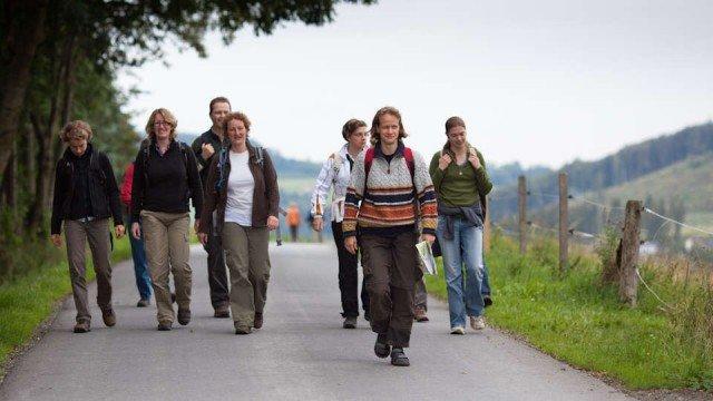 Pilgergruppe im Sauerland (Foto: SMMP/Beer)