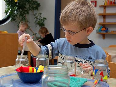 Der Bergkindergarten will Kinder individuell nach ihren Fähigkeiten fördern.