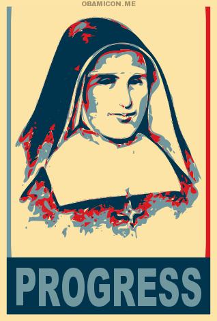 """Placida Viel SMMP (1815–1877) war als Nachfolgerin der hl. Maria Magdalena Postel die zweite Generaloberin der """"Pauvres Filles de la Miséricorde"""" (heute Schwestern der hl. Maria Magdalena Postel). Sie gründete etwa hundert Häuser und dehnte den Orden nach Deutschland aus, wo sich am 7. Oktober 1862 vier junge Lehrerinnen in Heiligenstadt im Eichsfeld, Thüringen, der Gemeinschaft anschlossen."""