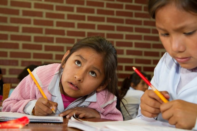 Die Armut durch Bildung überwinden im Kinderdorf Cristo Rey. (Foto: SMMP/Bock)
