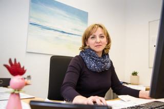Iryna Koch leitet den neuen ambulanten Dienst in Oelde. Foto: SMMP/Bock