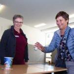 Beim Physioparcours der Bildungsakademie für Therapieberufe konnte man: Bälle werfen. (Foto: Bock/SMMP)