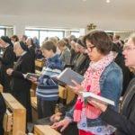 Über 200 Schwestern und Gäste erlebten die Professfeier mit. Foto: SMMP/Ulrich Bock