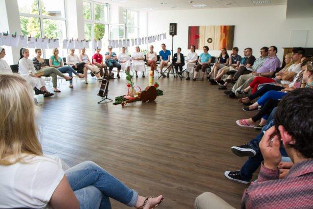 Felsensaal: Platz für 60 bis 80 Personen