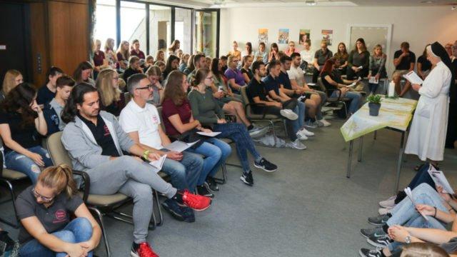 Erst im Sommer 2018 wurde die Dependancde der Bildungsakademie in Bestwig eingesegnet. Und schnell wurde es eng. Aber ein Ende der Platznot scheint nun in Sicht. Foto: SMMP/Ulrich Bock